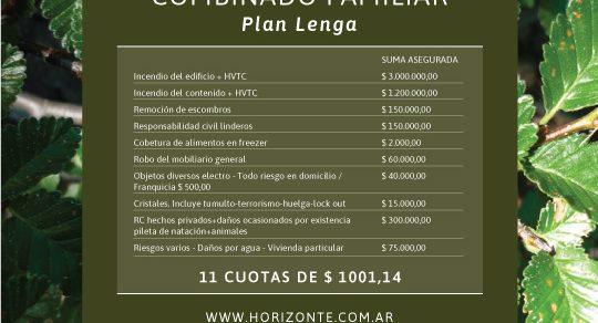 Plan Lenga